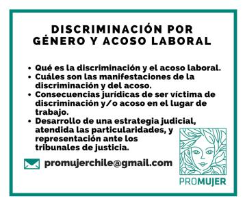 Si estás siendo discriminada o acosada en tu trabajo, te ayudamos a encontrar una solución.