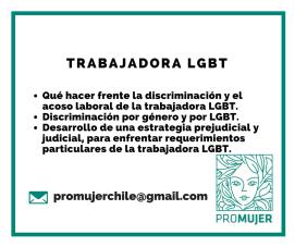 Tu trabajo no debe ser un límite, un mundo aparte donde no puedes expresar tu identidad. Te ayudamos a enfrentar la discriminación y el acoso que puedas experimentar -o temer experimentar- por ser LGBT.