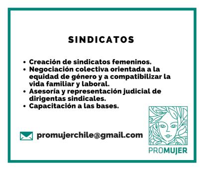 Si en tu empresa hay una alta presencia femenina y te interesaría crear una organización sindical que agrupe y represente los intereses de las mujeres trabajadoras, podemos ayudarte.